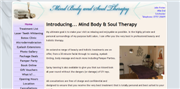 screenshot of mbs-therapy.co.uk