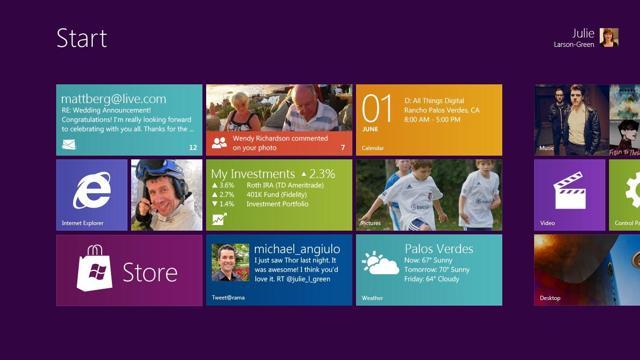 Microsoft Windows 8 Developer Edition